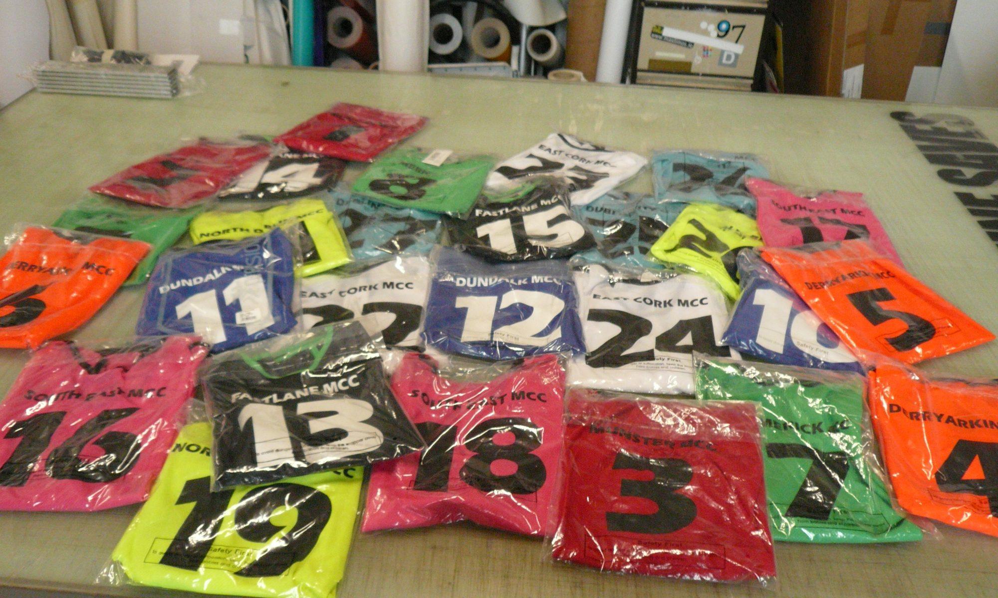 Hi VIz T-Shirt Printing company logos